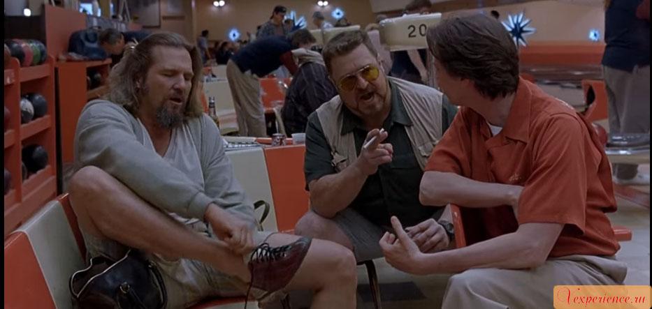 Большой Лебовски The Big Lebowski Джефф Бриджес Jeff Bridges
