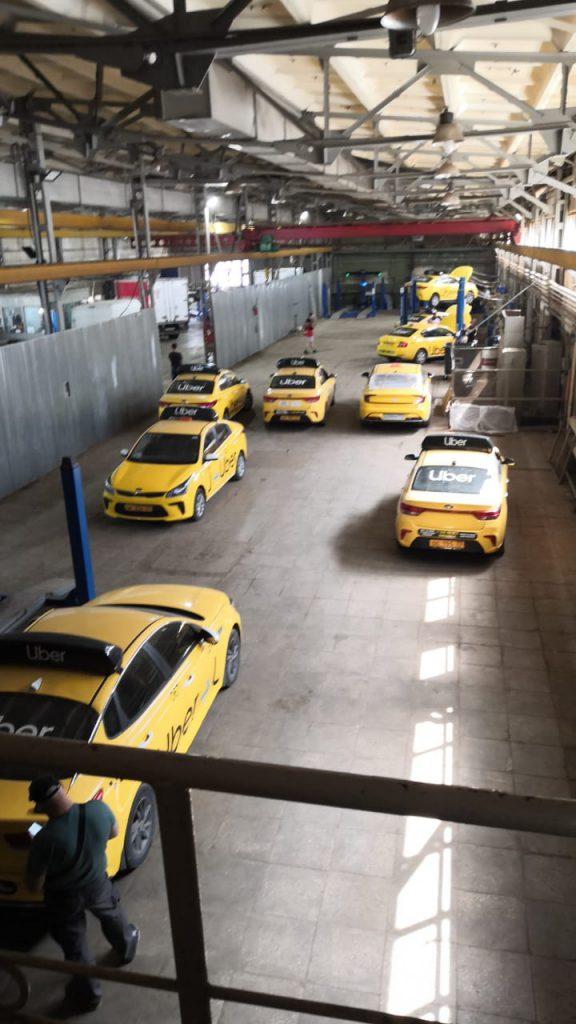 Сервис такси - техобслуживание